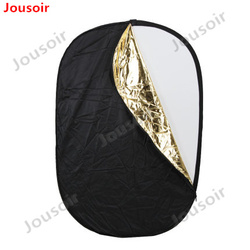 GODOX 59x79 150 x 200cm 5 in 1 Portable Collapsible Light Round Photography Reflector for Studio   CD50