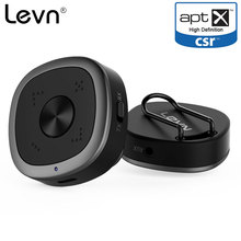 Levn aptx HD Bluetooth Receiver Transmitter Wireless 3.5MM Audio Adapter CSR BC8675 APT-X Low Latency for TV PC Stereos Speakers