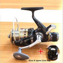 FDDL Brand 3000 type 8+1BB metal Front Back Drag Spinning Fishing Reel Body Spin Carp Feeder Fish Wheel Gift Give Line cup
