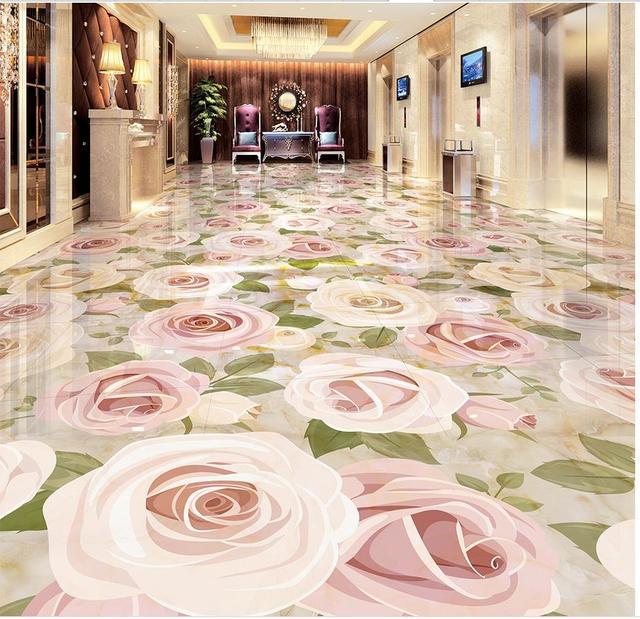 pisos e azulejos de plantar flores em relevo 3d personalizado foto auto adesivo 3d piso pvc piso. Black Bedroom Furniture Sets. Home Design Ideas