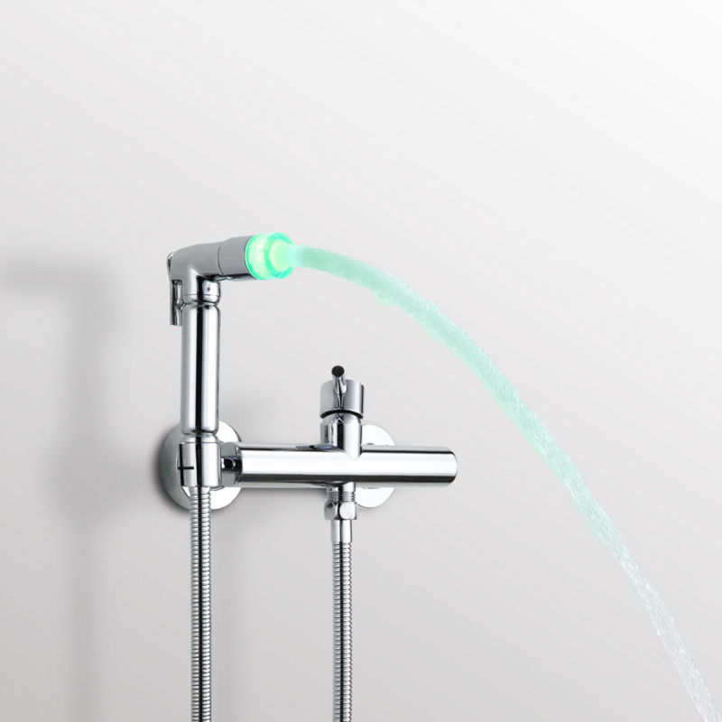 Badezimmer Bidet Wasserhahn Heißen Und Kalten Wasser Toilette Bidet Dusche  Set Mit 59 Zoll Brauseschlauch Handbidet Spritzpistole In Badezimmer Bidet  ...