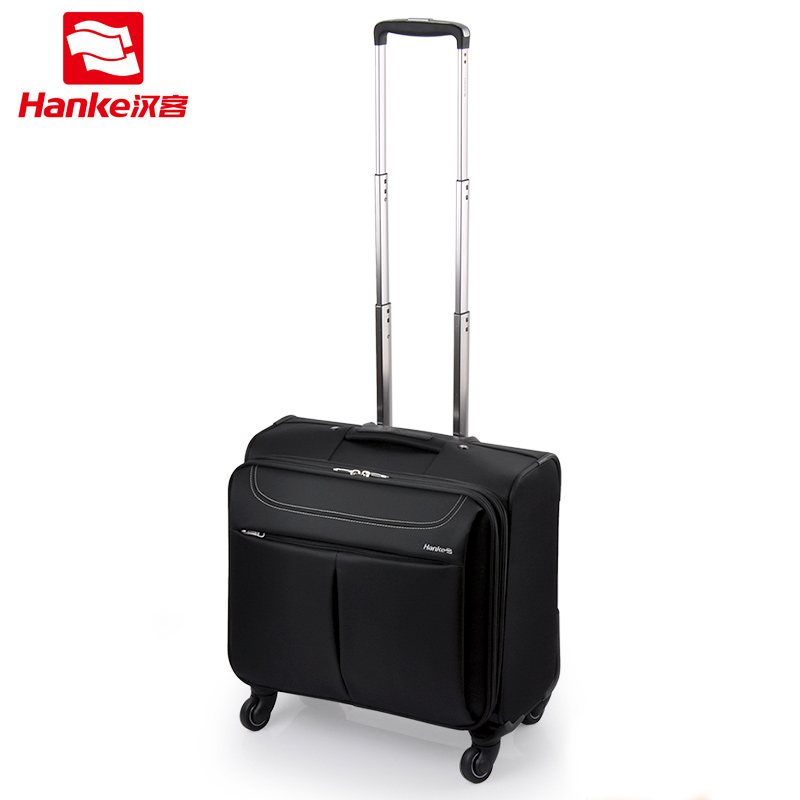 Business Spinner Rolling Luggage Travel Suitcase Boarding Bag Aluminum Alloy Trolley Case Traveling Luggages with Wheel Silent