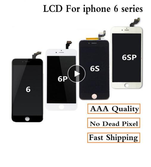 AAA+++ For Iphone 6 6Plus 6S Plus 7 LCD Full Assembly Complete 100% With 3D Force Touch Screen Replacement Display No Dead Pixel