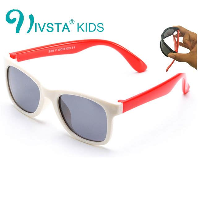 9f05cf5165a IVSTA 825 B Baby Sunglasses infant Children Sun Glasses for Boys Cool Soft Silicone  Flexible Rubber