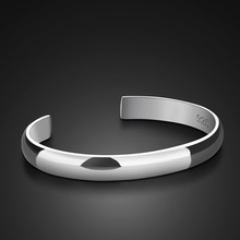 Fresh Silver Jewelry Opening fashion Bracelet Bangles For Wo