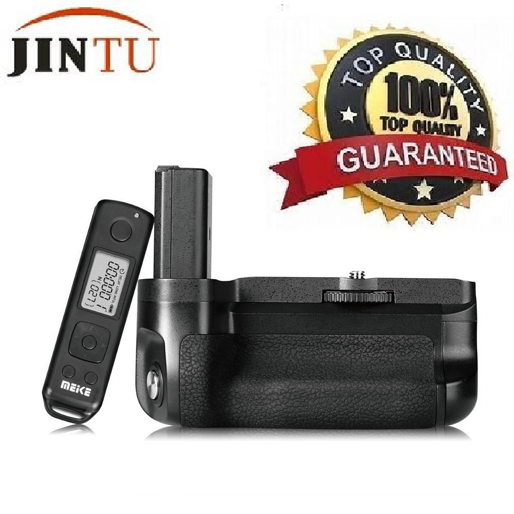 JINTU MK A6500 Pro Power Battery Grip 2 4G IR Remote Control For Sony A6500 Camera