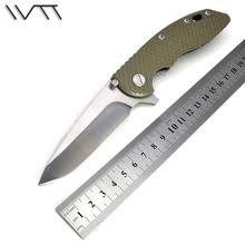 WTT HINDERER CTS-18HP XM18 Folding Knife D2 Blade G10 Handle Tactical Combat Pocket EDC Knife Outdoor Survival Camping Tools