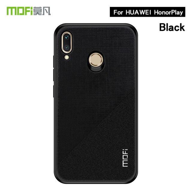 MOFi Huawei Honor Play Luxury Fabric Shockproof Back Case Cover