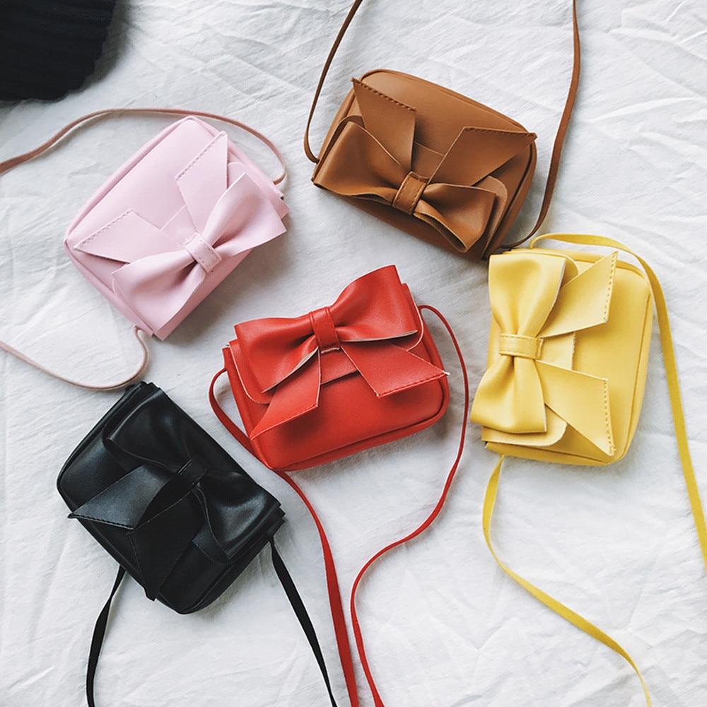 Das Beste Xiniu Taschen Für Frauen 2018 Mädchen Nette Bowknotl Leder Handtasche Schulter Tasche Mini Umhängetasche Cartera Mujer Kawaii # A27 Seien Sie Im Design Neu Kinder- & Babytaschen