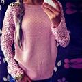 New Arrival Women Long Sleeve Top Sweater Pullover Loose Jumper Knitwear Outwear Free Shipping Wholesale