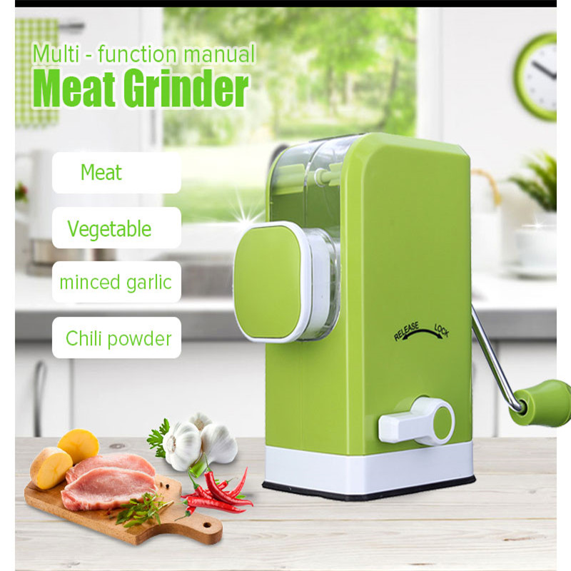 ФОТО Household Multi-Functional Home Kitchen Meat Grinder Vegetable Cutter Blender Manual Food Cooking Mixer