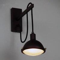 Спальня прикроватная лампа Лофт Винтаж в сторону коридор American Retro бар творческих индустрий Эдисон бра