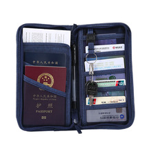 Unisex Travel Passport Cover Credit ID Card Holder Wallet Purse Documents Case Organizer Women Passport Holder Monedero Carteira new pu leather passport cover holder women men travel credit card holder travel id card document passport holder