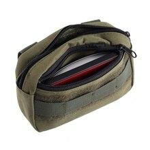 Тактический карманный органайзер edc сумка Военная поясная сумка водонепроницаемый Охотничий пакет сумка для инструментов маленькая армейская утилита поле