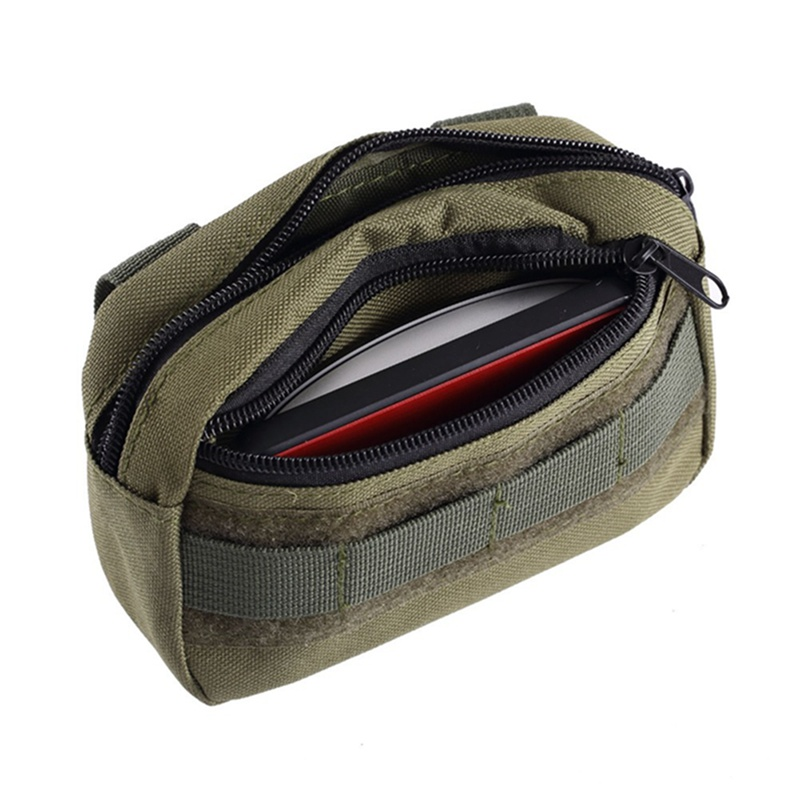 tactical pocket organizer edc pouch military belt pouch waterproof hunting pack tool bag small army utility field image