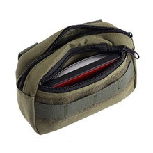 tactical pocket organizer edc pouch military belt pouch waterproof hunting pack tool bag small army utility field new tactical military hunting small utility pouch pack army molle cover scheme field sundries bags outdoor sports mess briefcase