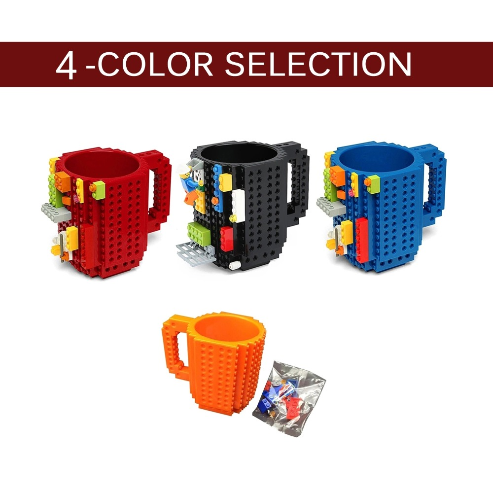 350ml Creative Milk Mug Coffee Cup Creative Build-on Brick Mug Cups Drinking Water Holder for LEGO Building Blocks Design350ml Creative Milk Mug Coffee Cup Creative Build-on Brick Mug Cups Drinking Water Holder for LEGO Building Blocks Design
