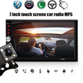 7012B+Rear Camera 7 Inch Bluetooth TFT Screen Car Audio Stereo MP5 Player 12V Auto 2-Din Support AUX FM USB SD MMC JPEG,WMA,MP4