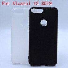 """Роскошный мягкий силиконовый чехол для телефона Alcatel 1S 5024D 5,"""" задняя крышка для Alcatel 5024D Coque Fundas Shell Capa"""