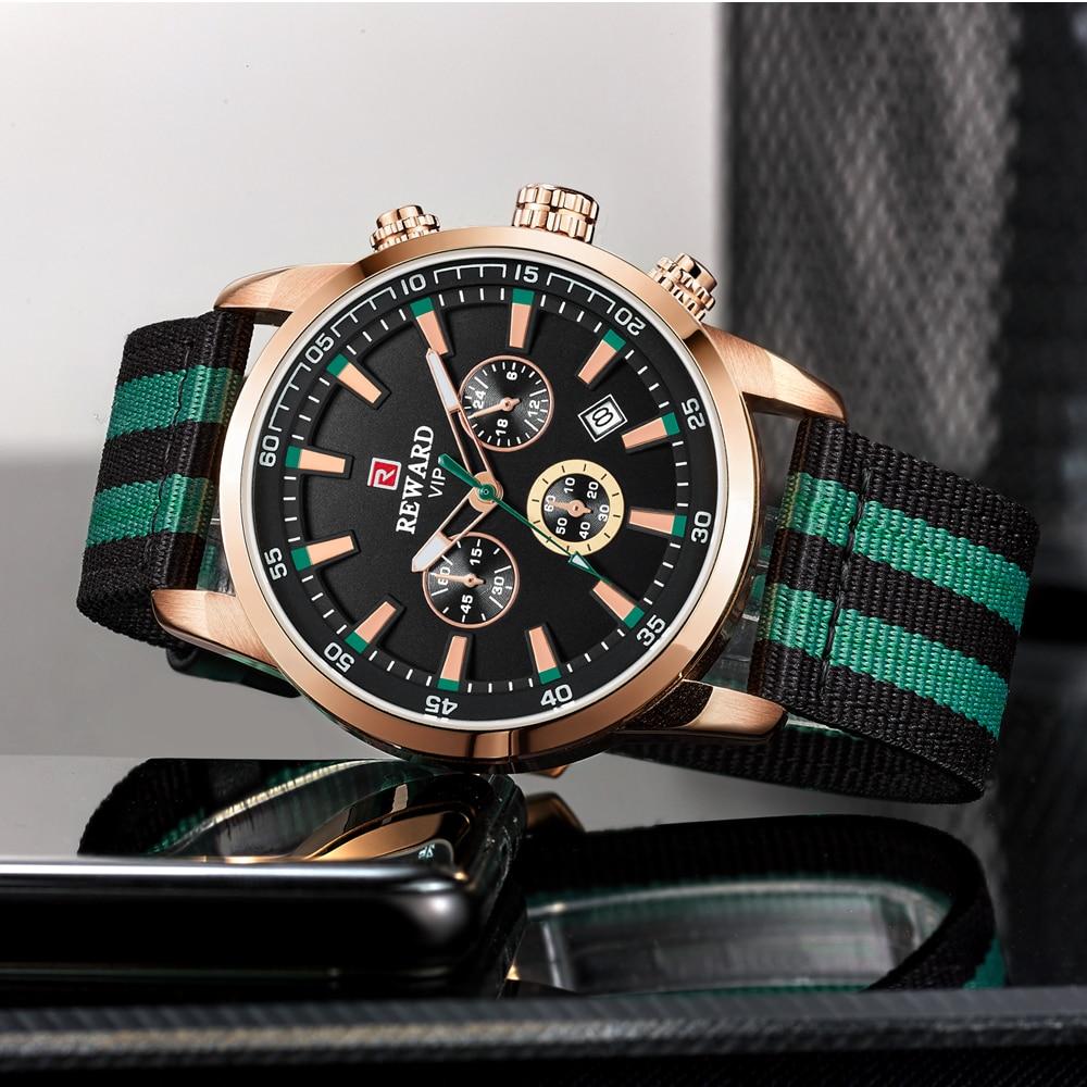 Quartz Men Watches Fashion Canvas Chronograph Watch Clock for Gentle Men Male Students Reloj Hombre free shipping 2019 (10)