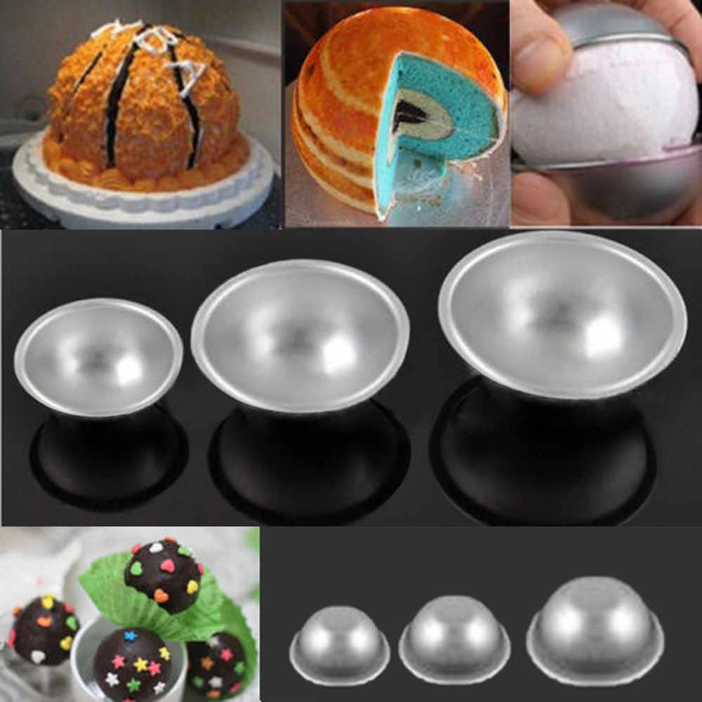 Enjoyable Cake Tin Pan Set 3D Sports Ball Tennis Basketball Birthday Cake Personalised Birthday Cards Cominlily Jamesorg
