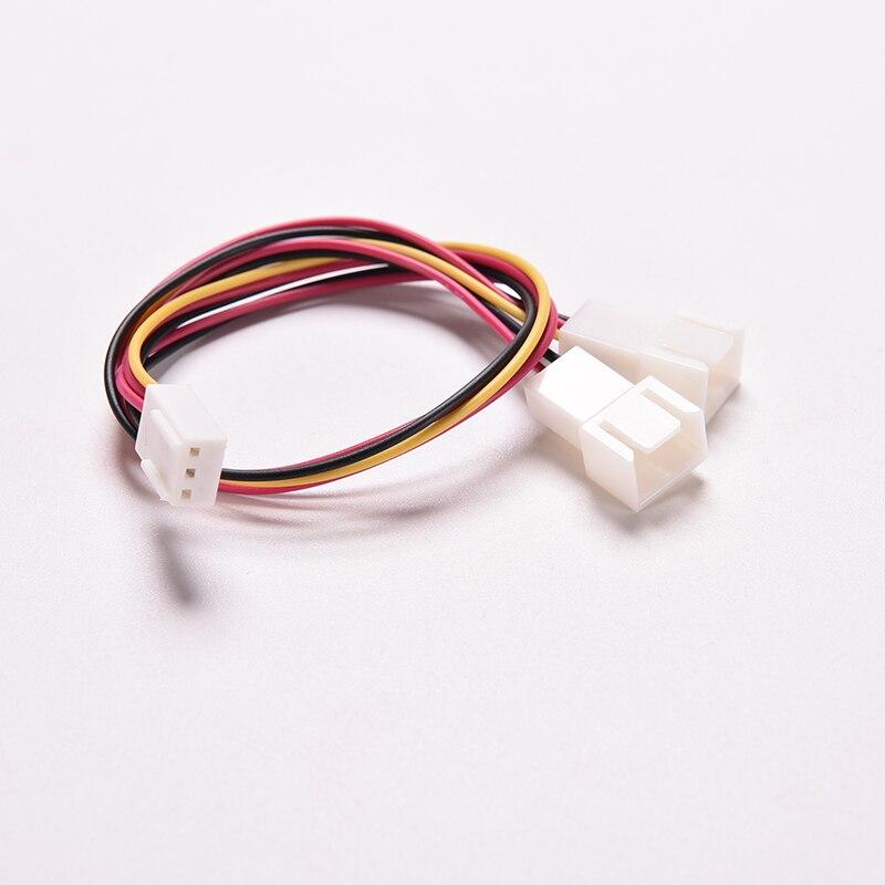 Case Fan Power Y Splitter Cable Lead 1 Female to 2 Male Motherboard Connector JB85