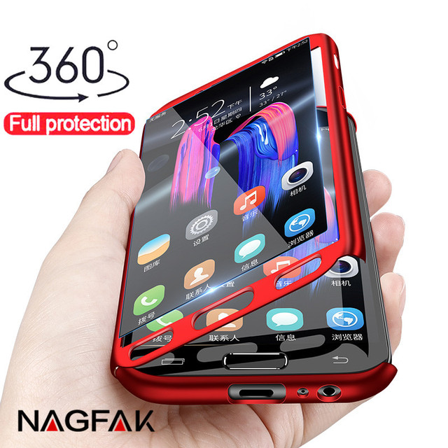 360 Full Cover Phone Case For Samsung Galaxy A5 A7 2017 Case For Samsung A7 A6 A8 J4 J6 J8 Plus 2018 Protective Shell Case Cover