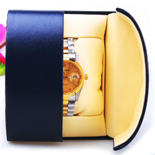 Luxury Paper Watch Gift Box Present Box Case For Watch Beautiful Bracelet Bangle Jewelry Box Accessory Wholesale 2017 Watch Box