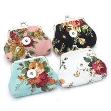 669ac3b61 2 Unids/lote 4 Color de La Flor Bolsas de Dinero Monederos Carteras  Pequeñas bolsa de Regalo de La Joyería Para Las Mujeres Puls.
