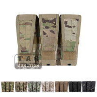Emerson Tactical M4 M16 AR15 5.56 .223 Triple Modular Magazine Pouch Emersongear MOLLE Mag Carrier Military Ammo Holder Multicam