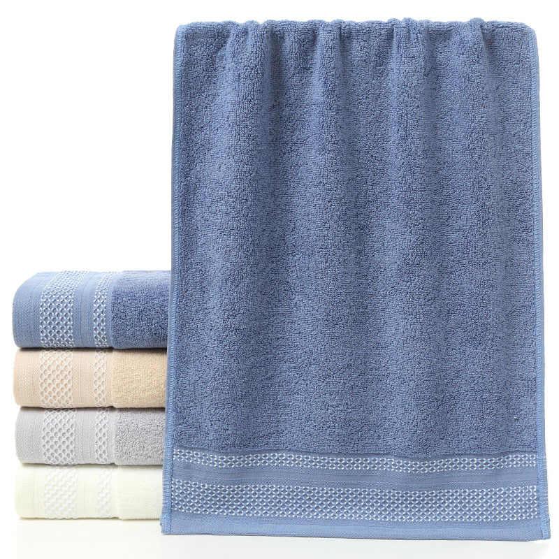 New Soft 100% Cotton Men Face Towel Linge De Toilette Home Useful Wash  Clean Face