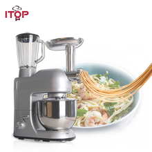 ITOP Multifunctional Professional Food Mixers Commercial Blender Juicers Meat Grinder Processors 110/220/240V