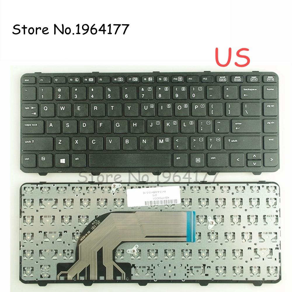 For HP Probook 430 G3 440 G3 446 G3 keyboard Latin Spanish Teclado Backlit frame