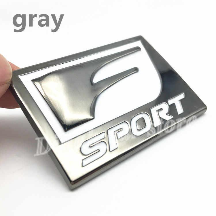 Nuevo F Sport FSport 3D insignia de Metal calcomanía trasera emblema del maletero para IS ISF GS RX RX350 ES IS250 ES350 LX570 CT200 estilo de coche