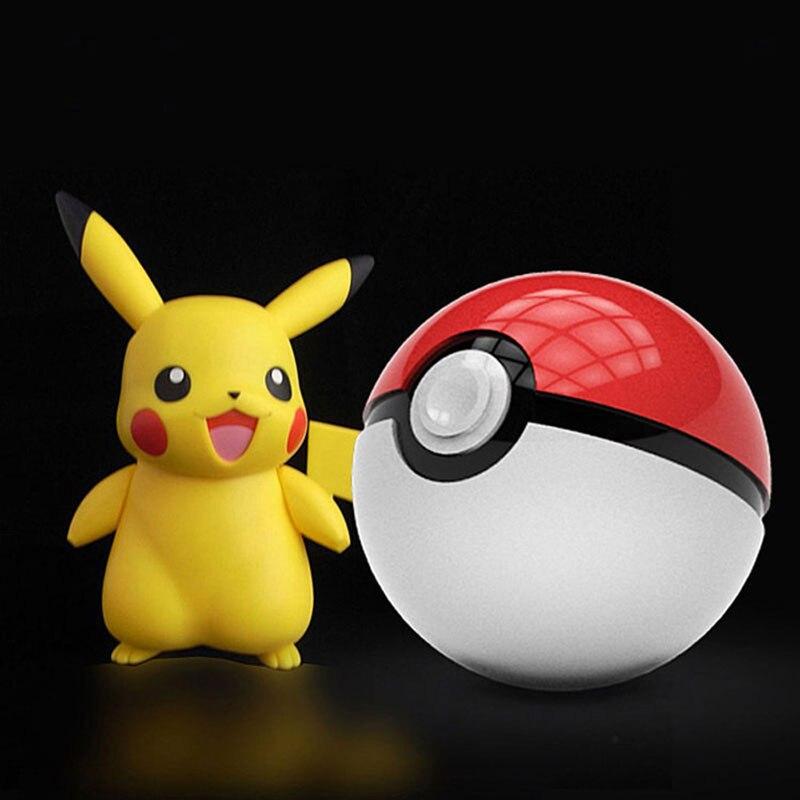 UVR AUTOFENSTERTÖNUNG Handy Ladegerät 5 V/2.1A Dual USB Ausgang 12000 mAh Pokemons Gehen Pokeball Ladung Tragbare Externe Stromversorgung Bank Handy-ladegerät