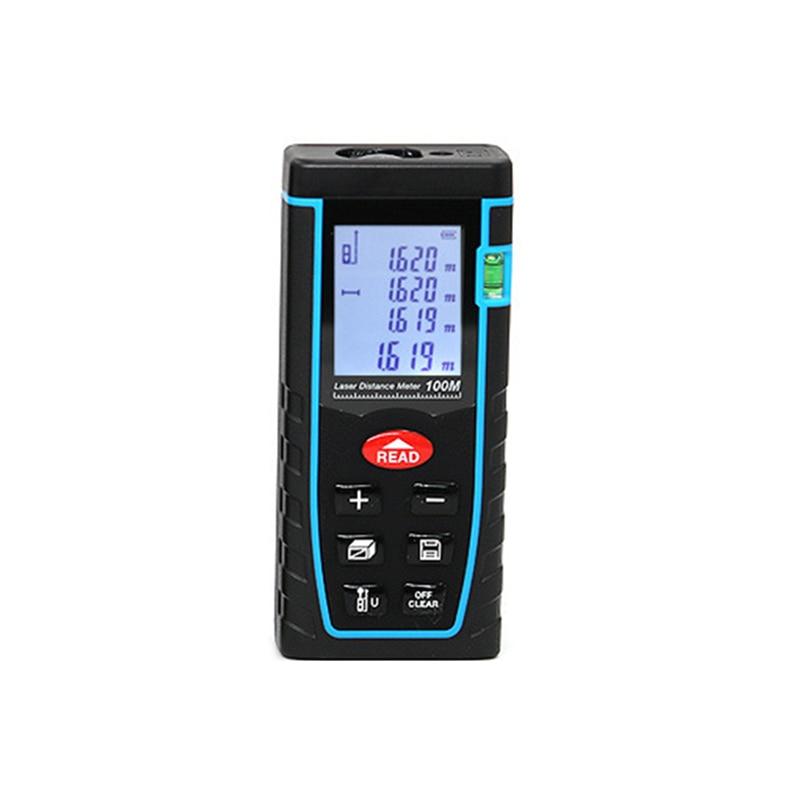 цены Laser Distance Meter 40M 60M 80M 100M Laser Rangefinder Laser Tape Range Finder trena ruler Diastimeter Measure Roulette