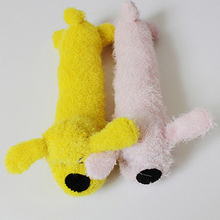 Soft Plush Squeaker Chew Toy for Puppies