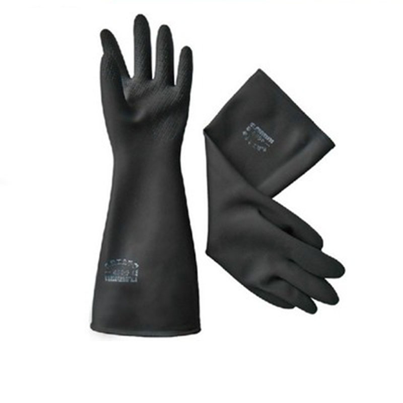New Safety Glove Elbow-Long Industry Anti Acid Alkali Chemical Resistant Rubber Work Protective Gloves