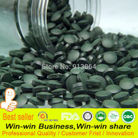 Export Standard Quality Anti Fatigue Anti Radiation Enhance Immune Green Natural Spirulina Tea Tablet Have Rich