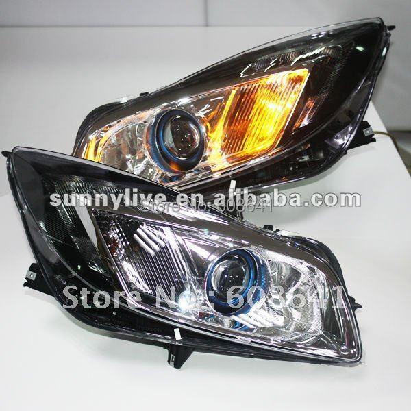 99 Buick Regal Gs: For Buick Regal GS LED Head Light Projector Lens 2010 V2