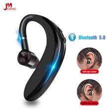 MEUYAG החדש Bluetooth 5.0 אלחוטי אוזניות סטריאו דיבורית שיחת עסקים אוזניות עם מיקרופון Earbud אוזניות עבור iPhone סמסונג