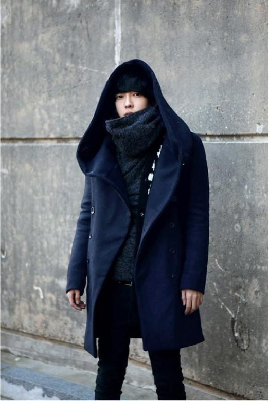 18 внешней торговли весна и осень Новый стиль Мужская одежда больших размеров ветровка корейской версии стройных мужчин стиль шляпа куртка ...