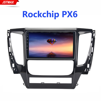 1 Din IPS 9 Android 9.0 Radio Car For Mitsubishi Pajero Sport 2017 Bluetooth Player 4GB RAM 64G ROM HDMI BT WIFI image