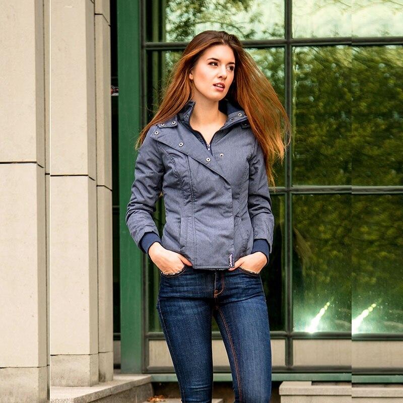 498e64bdd1db Women Hooded Coats Autumn Slim Causal Pocket Winter Jackets Fashion  Asymmetrical Warm Windproof Windbreaker Basic Coat