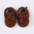 Nuevas Botas de Cuero Real de Bbay Bebé Caliente Mocasines de Piel Engrosamiento Recién Nacido antideslizantes Bebé Botas niñas