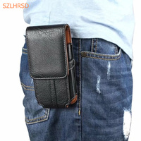 Waist Clip Holster PU Leather Phone Bag Cover Case For AGM X8 AGM X1 Mobile Cell