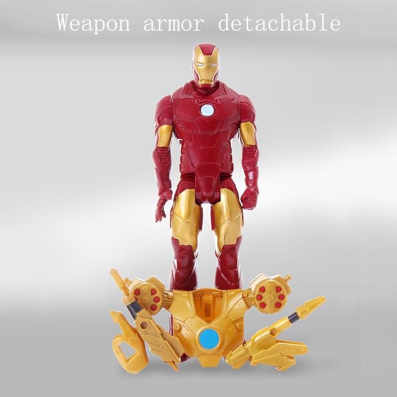 Titan Hero Series Marvel Avengers 4 Endgame Iron Man Action Figure Toy PVC Collectible Model Doll Toys for Children Gift