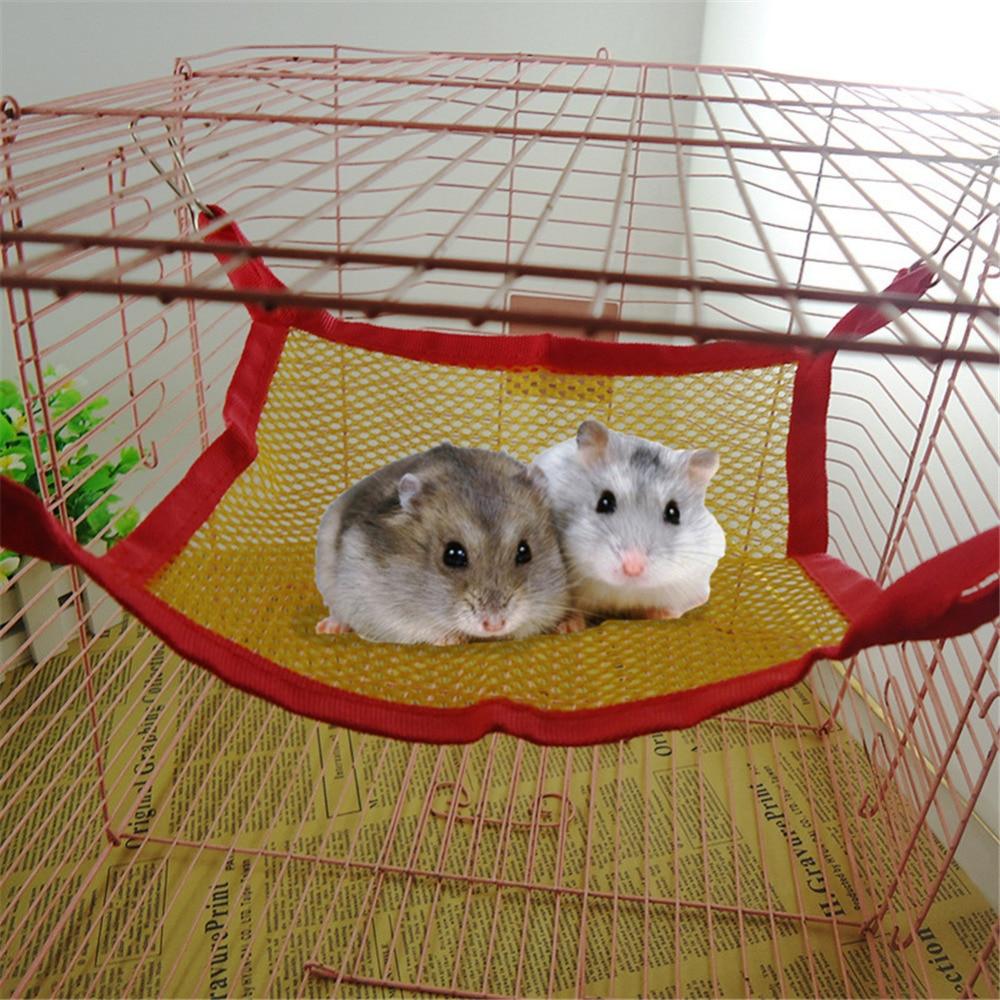 Breathable hamster Nest Mesh Hammock small Pet squirrel ...