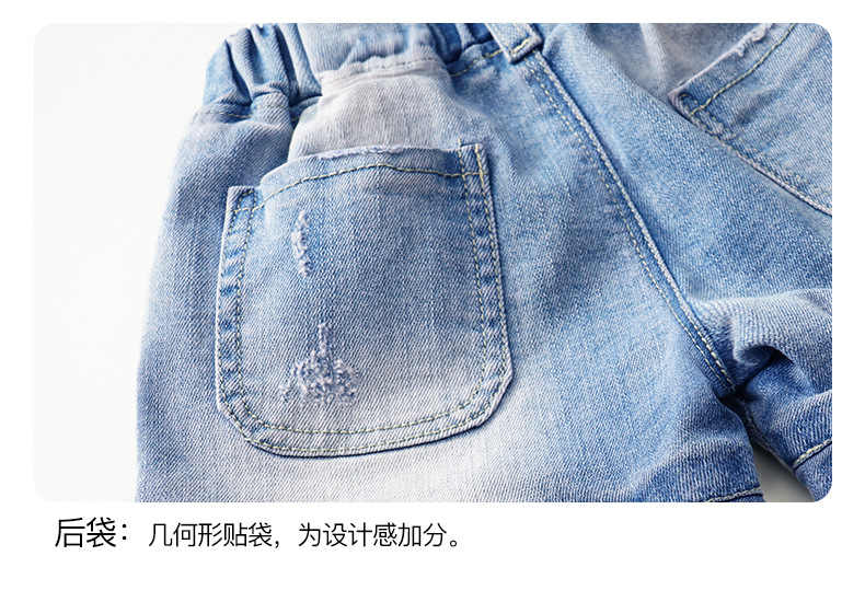 От 2 до 12 лет, новые летние модные джинсовые шорты с кружевными карманами для девочек повседневные штаны для малышей Детские шорты Детская одежда Retai