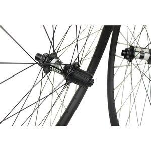 DT Schweizer 350 Hub Serie 27,5 er Mountainbike Rad 650B MTB Laufradsatz 35mm * 25mm Tubeless Carbon felge Für XC BIN